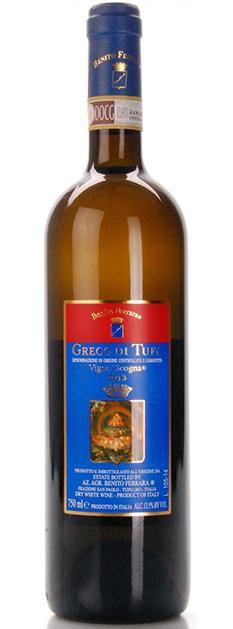 Vino Greco di Tufo docg 2013 Benito Ferrara San Poalo