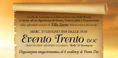 """Trento DOC - """"Bolle"""" di Montagna"""